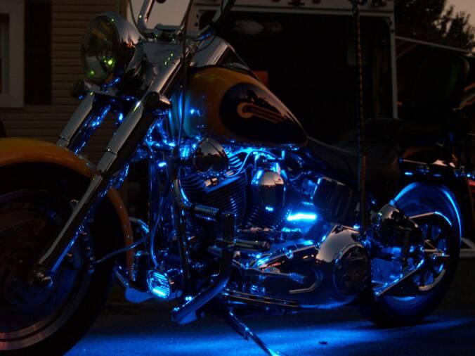 motorcycle led lighting & operational lighting